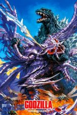 Nonton film Godzilla vs. Megaguirus (Gojira tai Megagirasu- Jî shômetsu sakusen) (2000) terbaru